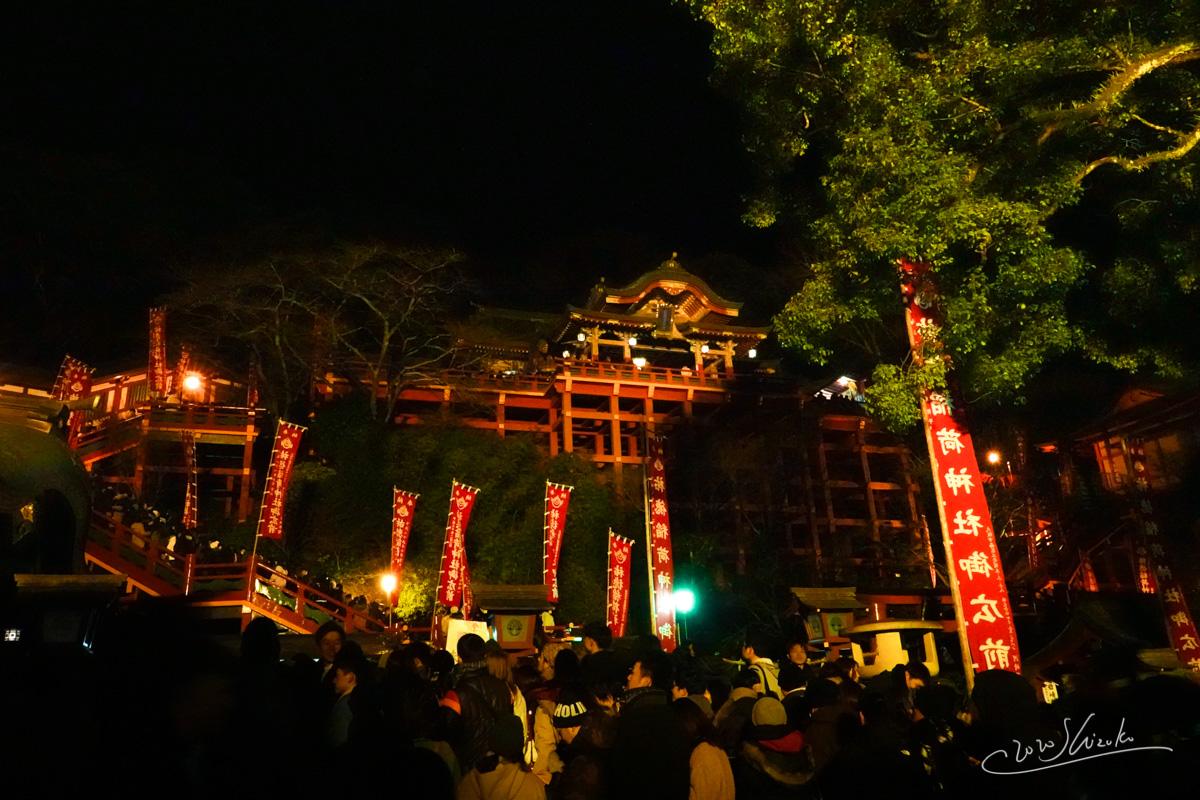 祐徳稲荷神社への初詣