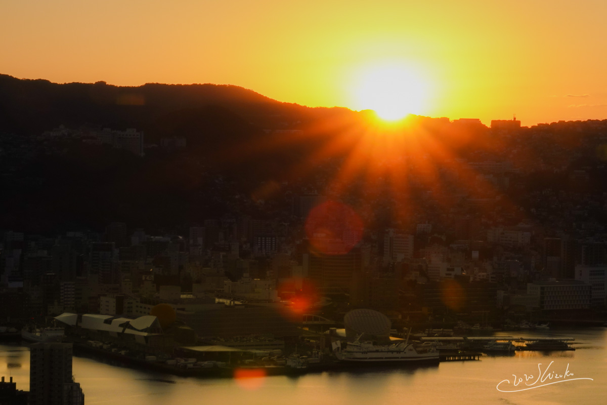 長崎の初日の出