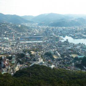稲佐山から見た長崎市