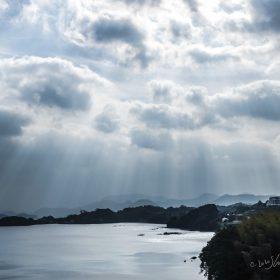 光芒とパサージュ琴海