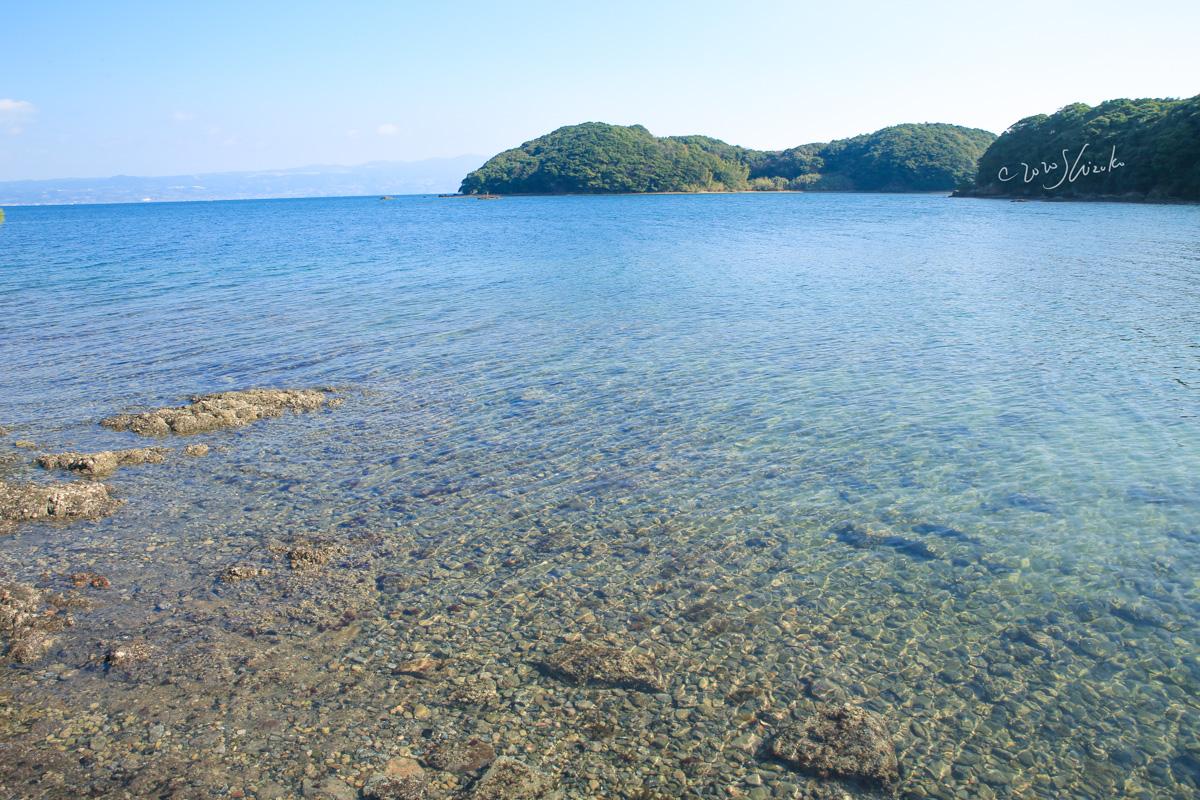 大村湾と高島