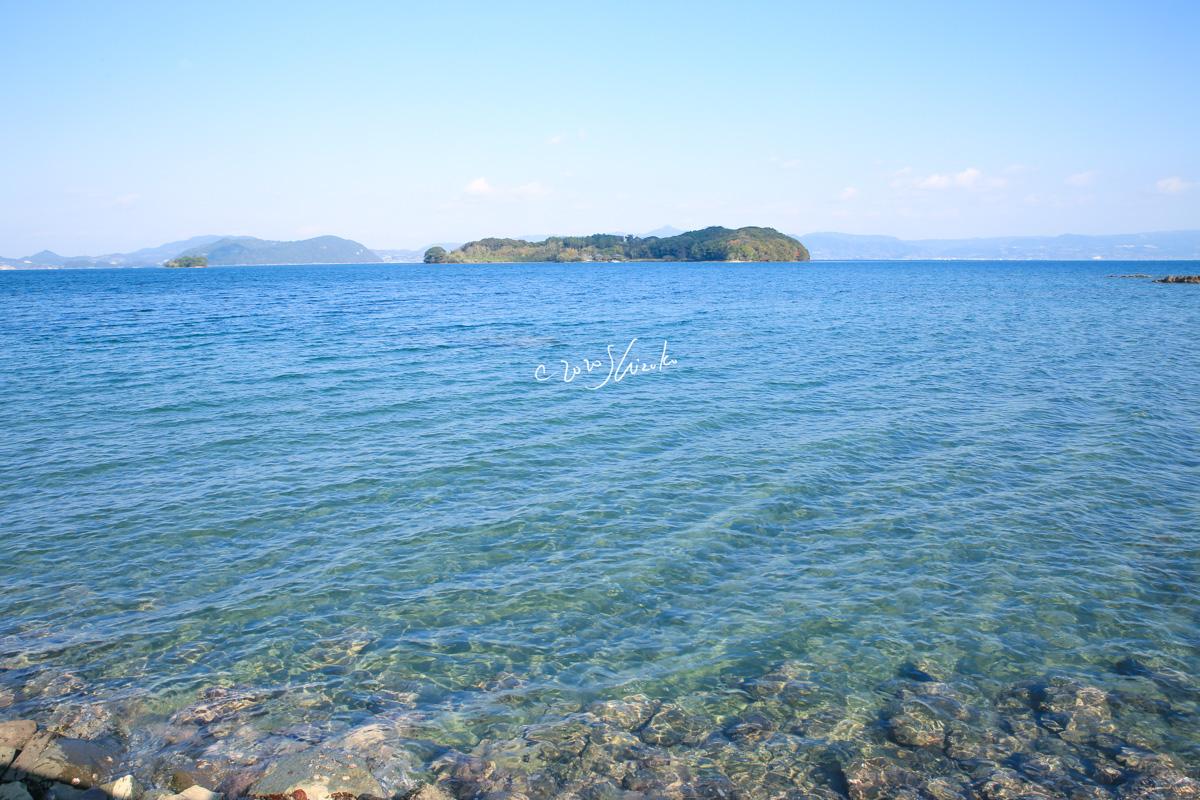 大村湾と田島