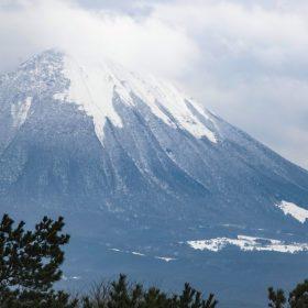 鳥取の冬の大山