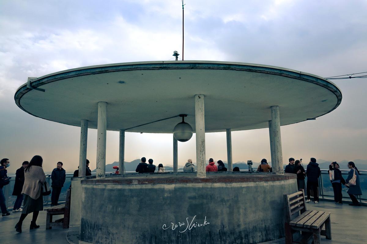 千光寺公園の展望台
