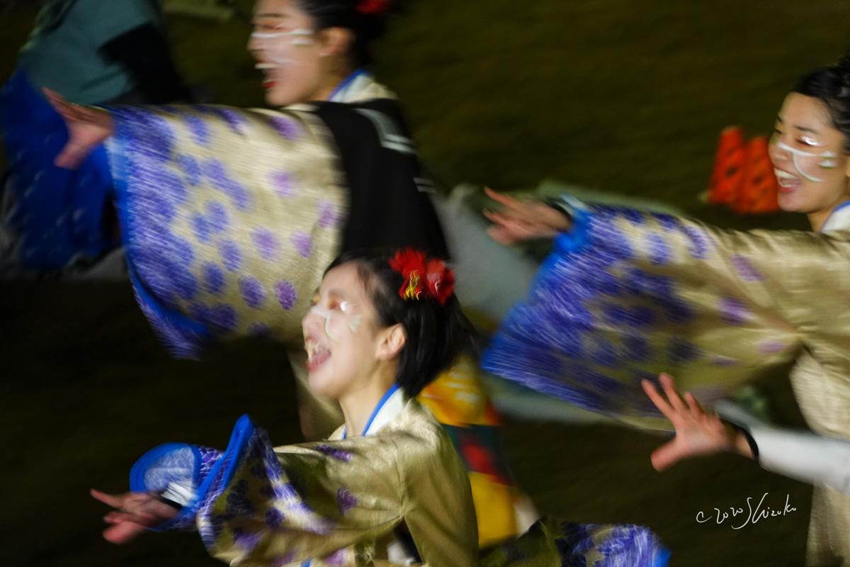 西大寺会陽甚句の演舞
